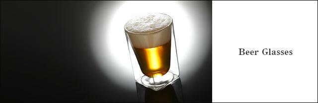 ビールグラス ビアグラス ラインナップ rayes レイエス スクエア ダブルウォールグラス  家飲みに