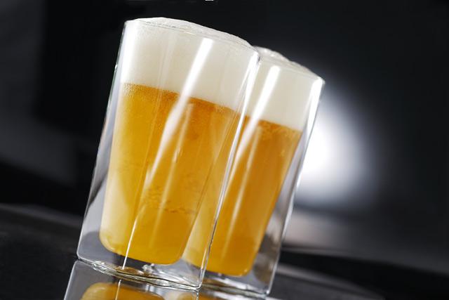 ビール ペア セット バー rayes レイエス スクエア ダブルウォールグラス