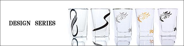 デザイン シリーズ リーフ ムゲンダイ ナガレ rayes レイエス スクエア ダブルウォールグラス