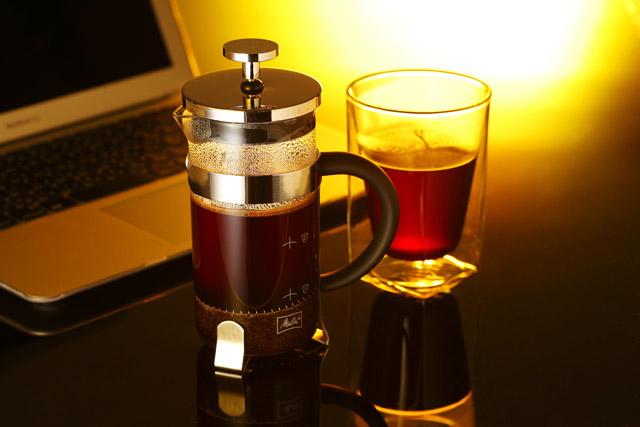 一息 フレンチプレス ボダム メリタ 珈琲 コーヒー melitta coffee rayes レイエス スクエア ダブルウォールグラス