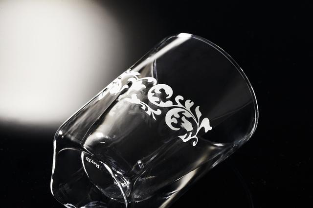 引き出物 ギフト 名入れ  rayes レイエス スクエア ダブルウォールグラス