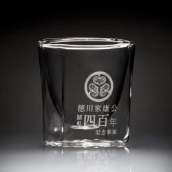 徳川家康公顕彰四百年記念事業 レイエス ダブルウォールグラス 新発売 400年記念グラス