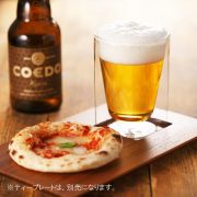 ビール ピザ コエド チーク ティー プレート rayes レイエス スクエア ダブルウォールグラス