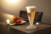 ビールグラス ビアグラス 夕食 ディナー から揚げ rayes レイエス スクエア ダブルウォールグラス