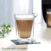 ダブルウォールグラスRayESレイエスのアイスコーヒー