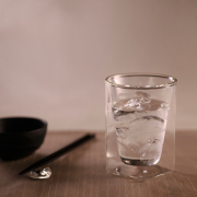 フロストシリーズ 雲 コーヒー 日本酒 冷酒 熱燗 寿司 鮨 レイエス ダブルウォールグラス