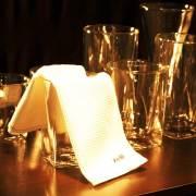 バー グラス拭き ふきん 食器 あっちこっち rayes レイエス ダブルウォールグラス