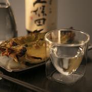 日本 酒 鮎 久保田 冷酒 熱燗  rayes レイエス ダブルウォールグラス