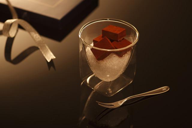 生 チョコレート rayes レイエス スクエア ダブルウォールグラス
