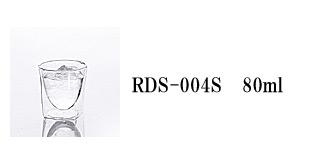 RDS-004S rayes レイエス スクエア ダブルウォールグラス
