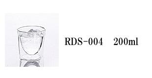 RDS-004 rayes レイエス スクエア ダブルウォールグラス