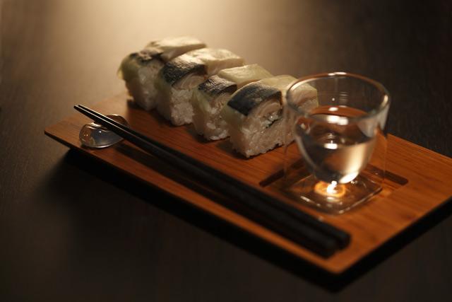 鯖寿司 晩酌 料亭 日本酒 冷酒 熱燗 rayes レイエス スクエア ダブルウォールグラス