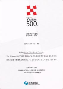The Wonder 500 クリップ式チタンスプーン 福井 眼鏡 メガネ