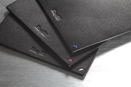 栃木レザー 天然本革 コースター ワンポイントステッチ 刺繍 rayes レイエスダブルウォールグラス