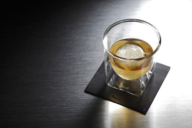 ウィスキー ロック コースター rayes レイエスダブルウォールグラス