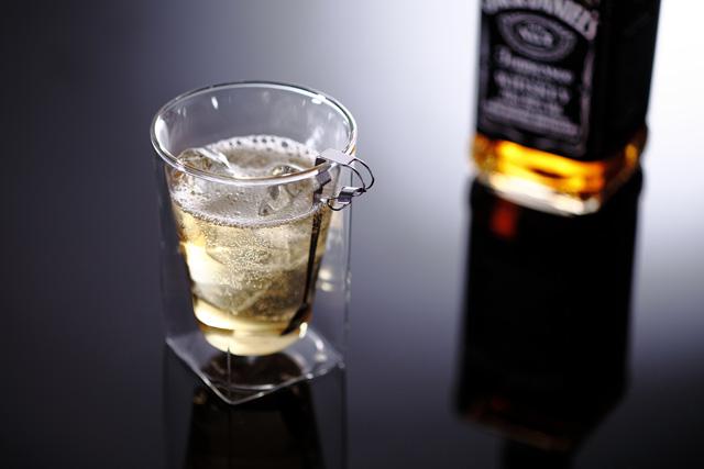 ウィスキー バー rayes レイエス スクエア ダブルウォールグラス